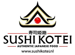 Sushi Kotei black Logo